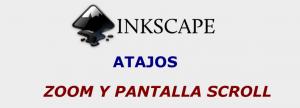 Zoom atajos Inkscape