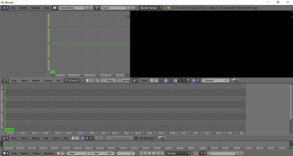 VVideo Editing Blender