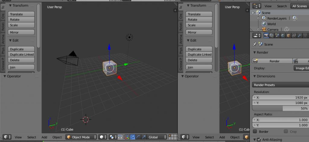 Añadir un Editor en Blender