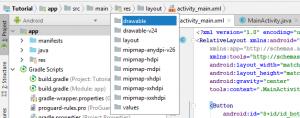 Barra de navegación en Android Studio