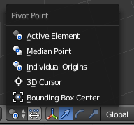Pivot point blender