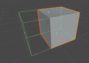 Editando box collider, Unity