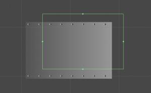 Editando box collider 2D, Unity