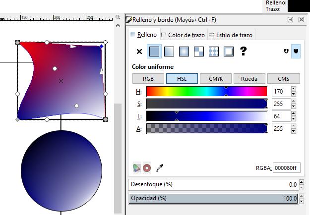 Modificar rejilla, Inkscape
