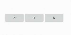 LinearLayout orientación horizontal, Android Studio