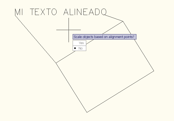 Alinear ALIGN Autocad