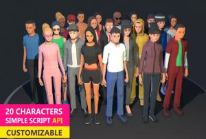 Personaje 3D personalizar