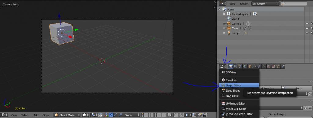 Graph Editor Blender