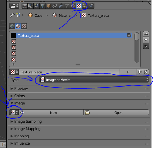 Image texture blender