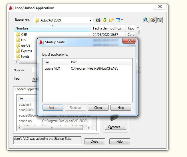 Autocad DEPRORED Windows 7