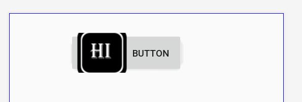 Botón texto con icono en Android Studio