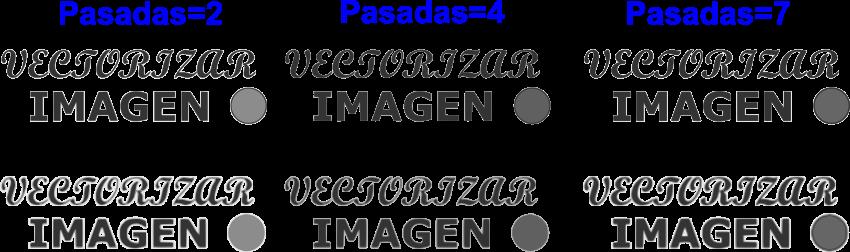 Pasos de luminosidad Inkscape