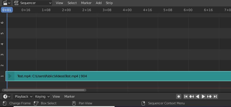 Exportando audio Blender