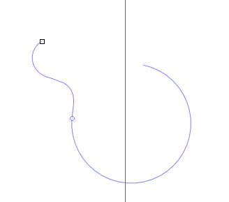 Lineas curvas Inkscape