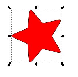 Mover escalar objeto Inkscape