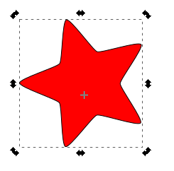 Rotar objeto Inkscape