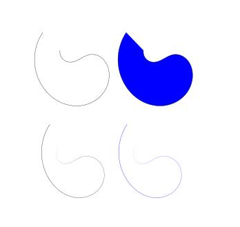 Trayecto Triangulo dentro Inkscape