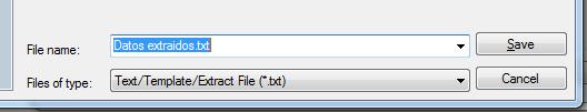 Exportar datos de Autocad