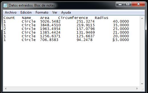Exportar datos de Autocad a archivo e texto