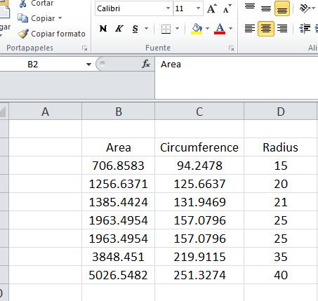 Extraer datos de Autocad a Excel