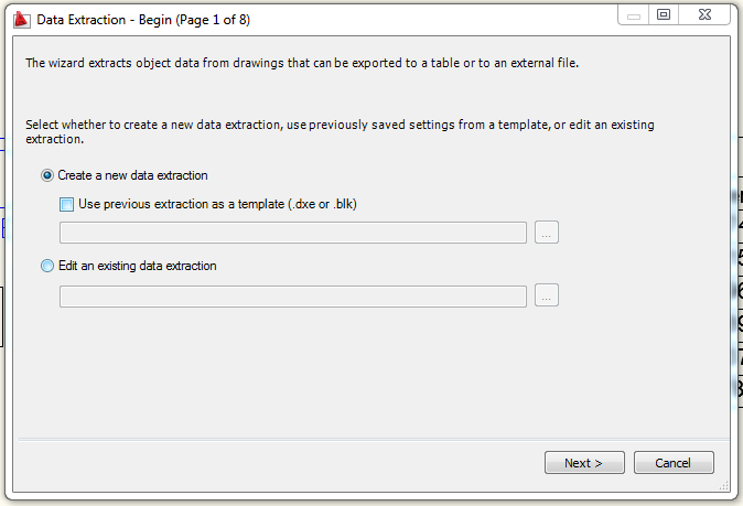 Extraer a excel datos autocad