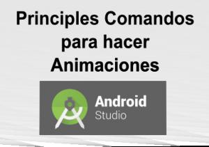 Comandos para hacer animaciones