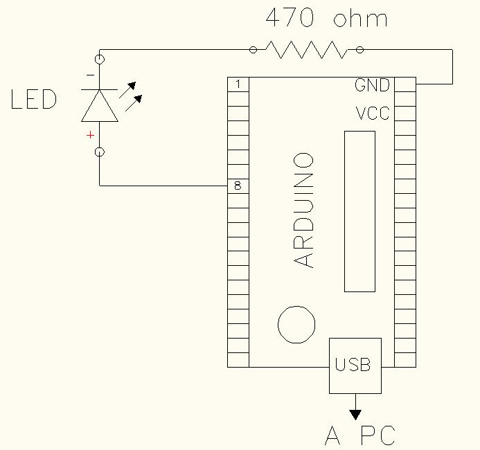 Arduino prender y apagar LED
