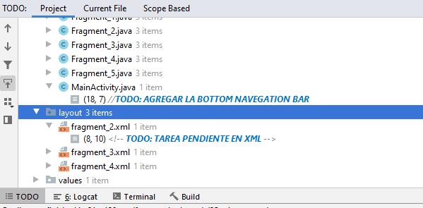Tarea pendiente TODO Android developer