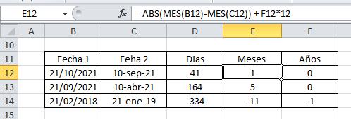 Sumar meses Excel